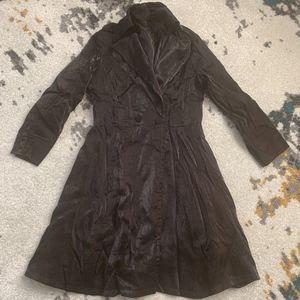 Lapis Black Coat in Large